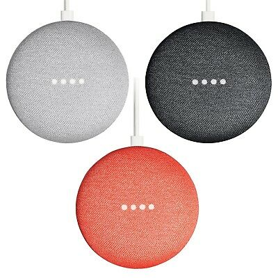 NEW Google Home Mini Smart Speaker with Google Assistant Voice Activated