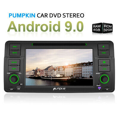 "7"" Autoradio Für BMW 3er E46 M3 GPS Navi 1 DIN Bluetooth DVD CD USB SD MP3 DVB-T"