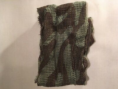 WW2 BRITISH SCRIM Scarf - Repro Army Military Soldier Uniform Paratrooper  Camo