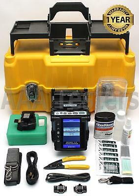 Fujikura 70S SM MM Core Alignment Fiber Fusion Splicer w/ CT-30 Cleaver FSM-70S