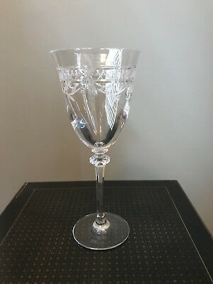 Royal Doulton Wellesley Cut Crystal Wine Glasses Goblets 65 00