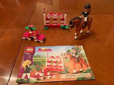 Lego Belville Horse Jumping 7587 Complete Set With Instructions