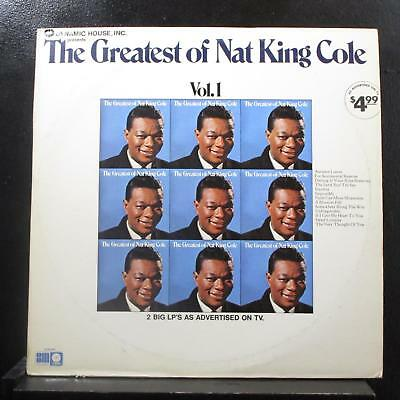 Nat King Cole - The Greatest Of Nat King Cole 2 LP Mint- SLB-6803 Vinyl Record