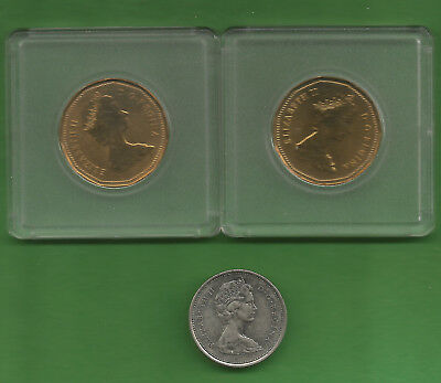 Lot Of 29 Mixed Canada Coins 1931-1987; 1 Cent; Nickel; Dimes; Quarter & $1!!!