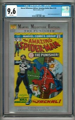 Marvel Milestone Edition: Amazing Spider-Man #129 (1992) CGC 9.6  White Pages