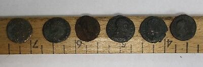 Lot of 6 Ancient Roman AE Empire A.D. Rome Coin Legion Rev Soldiers Spears (249)