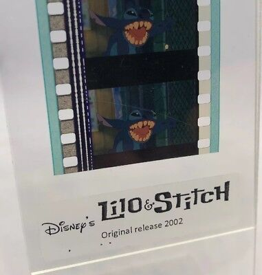 Disney LILO & STITCH Authentic Animation Film 5-Cells Strip BREAKING OUT