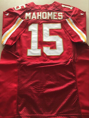 NEW Men's Patrick Mahomes #15 Red Elite Stitched Football Jerseys Chief