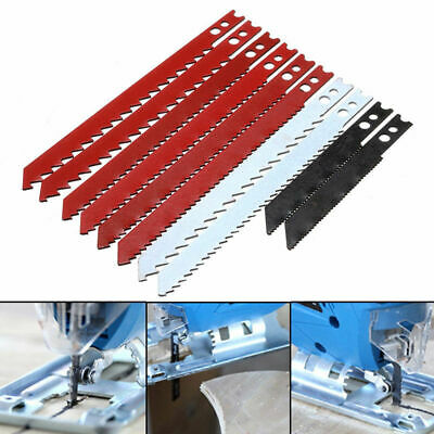 10Pcs T-Shank Assorted Jigsaw Blade Set For Jig Saw Metal Plastic Wood Blades