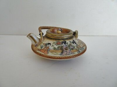 Late 19th Century Miniature Satsuma Teapot