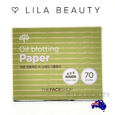 The Face Shop - Daily Beauty Tools Oil Blotting Paper 1 Pack (70 Sheets)