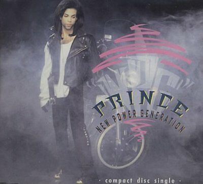 Prince New power generation (2 versions, 1990, plus Ext. Remix of 'M.. [Maxi-CD]