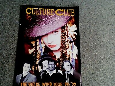 Culture Club The Big Re-Wind Tour 98/99 Programme