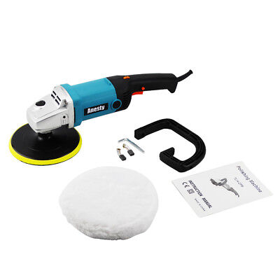 "Variable 6-Speed 7"" Electric Polisher Buffer Waxer Car Truck Van Boat Sander"