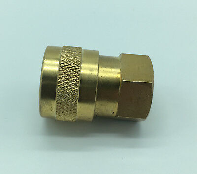 """1/4"""" lance Nozzle Jet Holder  BRASS - pressure Washer quick Release nozzles"""
