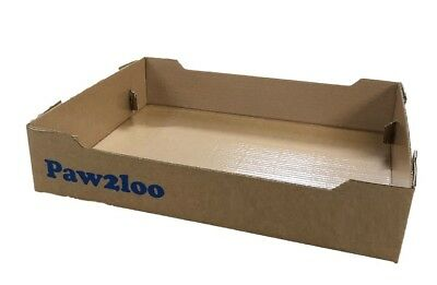 Disposable cat litter waste trays, throw away cat loo, Litter Liners,
