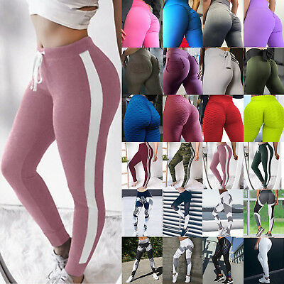 Women High Waist Sport Leggings Fitness Yoga Pants Athletic Gym Stretch Trousers