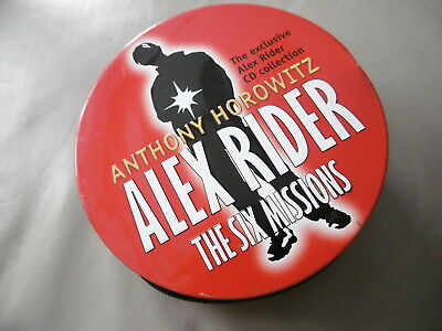 Anthony Horowitz Alex Rider Six Missions 37 CD 42.5 Hours en Lata Audiolibro