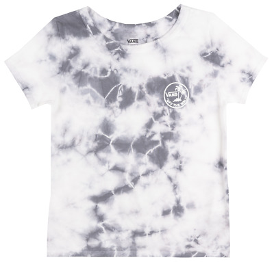 5d2ba1338b Vans Off The Wall Mini Dual Palm Skimmer T-Shirt Womens Skateboard Tee Tie  Dye