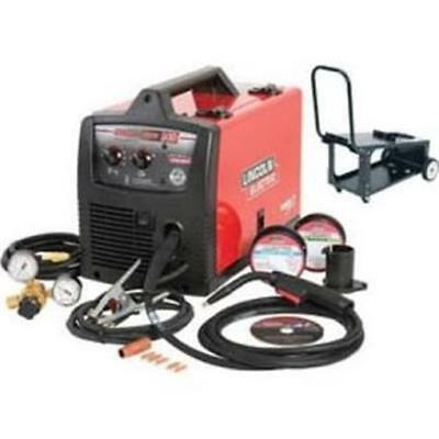 Lincoln Electric LEW-K4085-1 Easy-MIG 140 Welder with Cart K4085-1