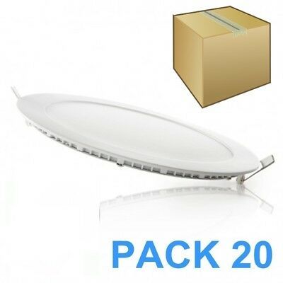 Pack 20 Downlights Led 18W