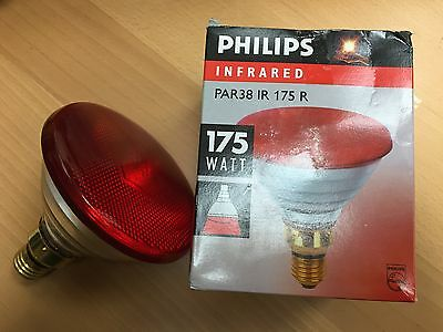 Philips InfraRed 250W IR250RH BR125 E27 Rot