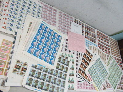 Nystamps Worldwide many mint stamp sheet collection SCV $2103