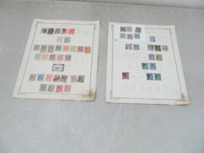 Nystamps X Old US Possession Spain Puerto Rico stamp collection album page