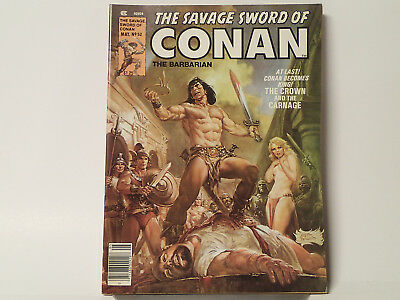 The Savage Sword of CONAN the Barbarian #52 Marvel Comics 1980 FN  FL