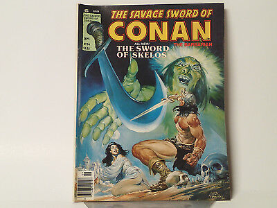The Savage Sword of CONAN the Barbarian #56 Marvel Comics 1980 FN   FL