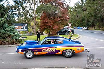 Drag car Valiant Charger VH Coupe