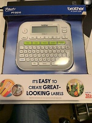 New in Box - Brother P-touch (PT-D210) Home & Office Label Maker - New w/Box!!
