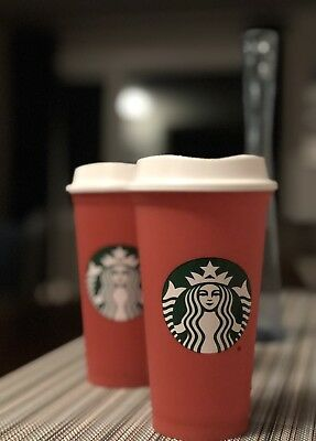 STARBUCKS RED Reusable Holiday Cup 2018 Limited Edition - BRAND NEW