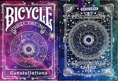 Constellations v2 Bicycle Playing Cards Poker Size Deck USPCC Custom Limited New