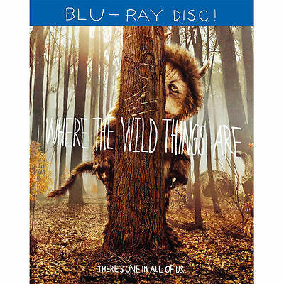 😀 Where the Wild Things Are (Blu-ray/DVD, 2010) 😀