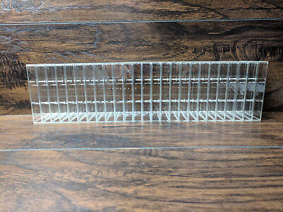 25 - Norelco Style Audio Cassette Tape Case Clear Storage Boxes