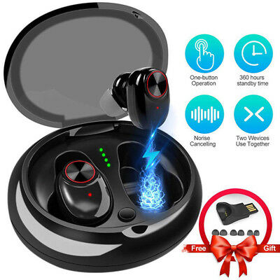 Mini Twins Bluetooth 5.0 Earphones True Wireless Headphone In-Ear Stereo Headset
