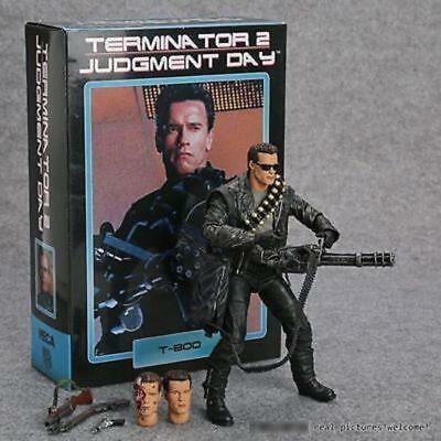 """NEW Terminator 2 Judgment Day T-800 Ultimate Deluxe Arnold 7"""" Action Figure"""