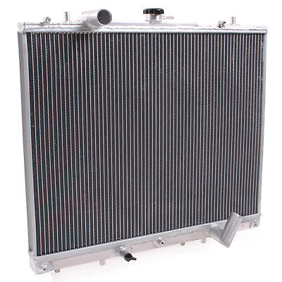 Twin Core Alloy Engine Radiator For Mitsubishi Pajero Shogun Sport L200 2.5 Td