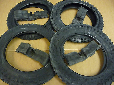 4... 12 1/2 X 2 1/4 CYCLE PRAM TYRES & INNER TUBES Buggy Pushchair Bike 12X2.125