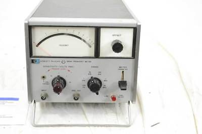 HP 5210A Frequency Meter - analoger Frequnezmesser 3Hz - 10MHz