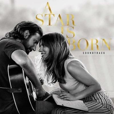 Lady Gaga Bradley Cooper A Star Is Born Audio CD Soundtrack Film Movie 2018 NEW