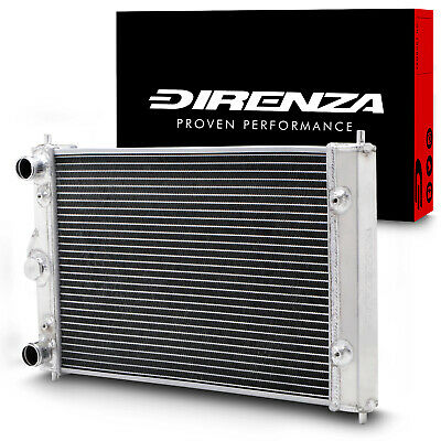 DIRENZA 40mm ALLOY SPORT RACE RADIATOR RAD FOR VW POLO 86C 1.3 G40 COUPE 82-94
