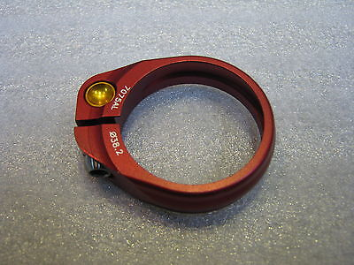 KCNC 38.2mm Red Super light Seatpost Clamp