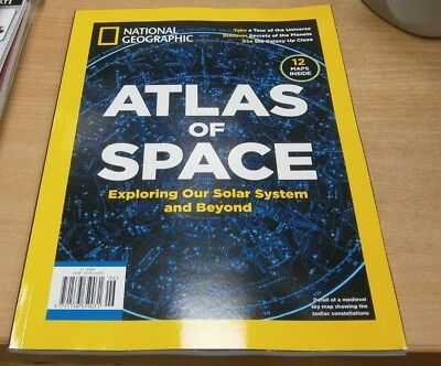 National Geographic magazine Special 2018 Atlas of Space. Solar System & Beyond