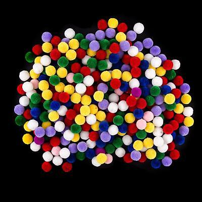 Assorted Luxury 14mm Pom Poms - Approx 300