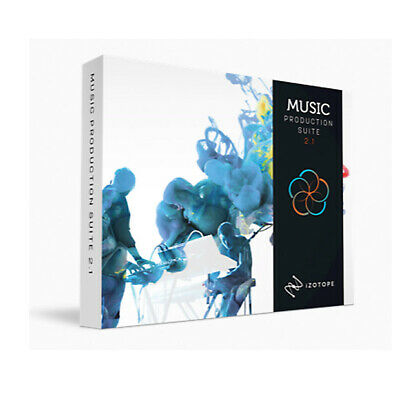 iZotope Music Production Suite 2.1 Crossgrade from MPS2, RX PPS 3