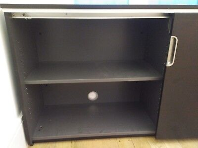 Ikea Galant filing cabinet with sliding doors