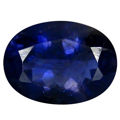 1.24 ct AAA Super-Excellent Oval Shape (8 x 6 mm) Iolite Natural Loose Gemstone