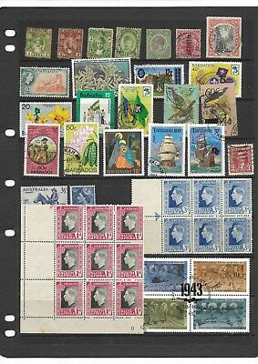 Commonwealth - Mint & used oddments on 3 scans - mixed condition (See desc)